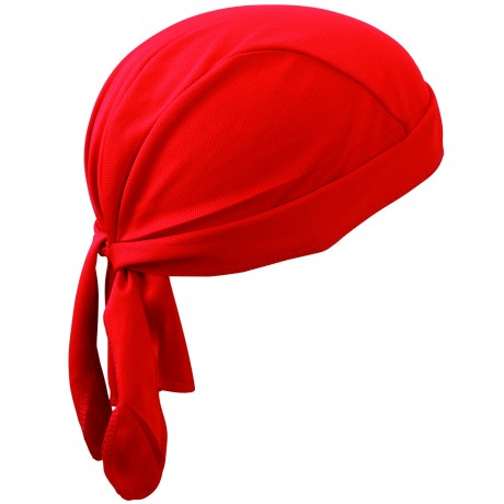 Bandana fonctionnel noué sport - MB6530 - rouge