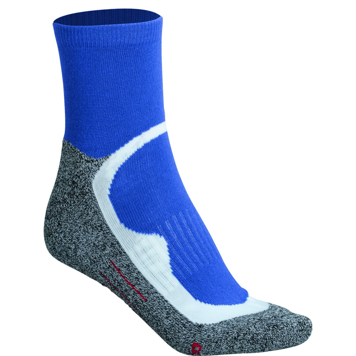 chaussettes courtes de sport homme femme jn210 bleu et gris. Black Bedroom Furniture Sets. Home Design Ideas