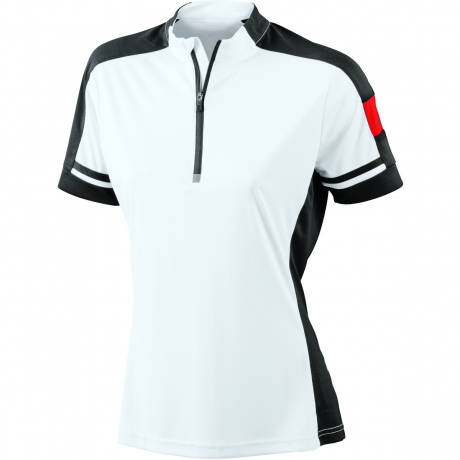 maillot cycliste - femme - JN451 - blanc