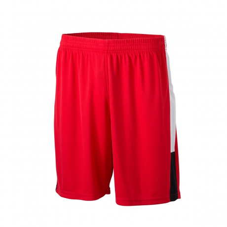 Short multi sport ADULTE - Foot basket handball - JN468 - rouge