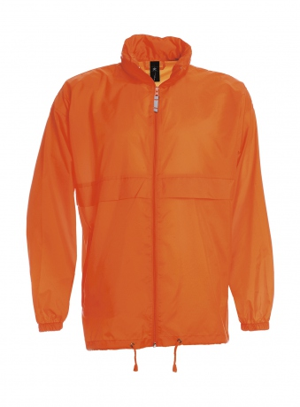 Coupe vent imperméable homme - JU800 - orange