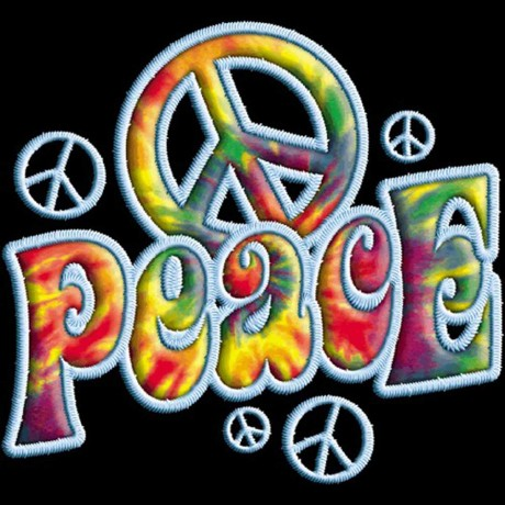 T-shirt FEMME manches courtes - PEACE and LOVE - 100232