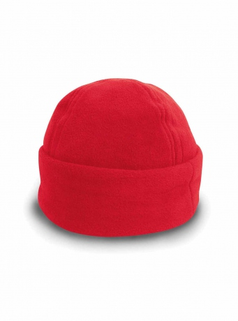 Bonnet bob polaire - RC141X - rouge