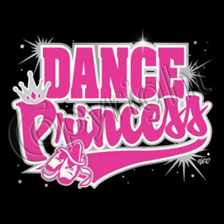T-shirt enfant manches courtes Dance Princess Danse Princesse Fashion - 1127