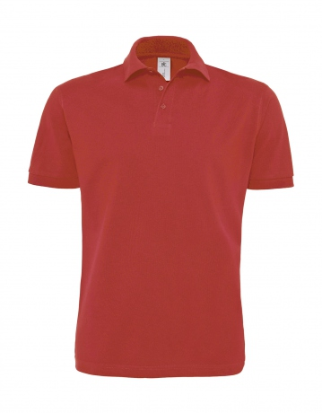 Polo lourd manches courtes - homme - PU422 - rouge