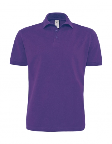 Polo lourd manches courtes - homme - PU422 - violet