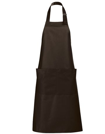 Tablier long avec poches - 88010 - marron chocolat