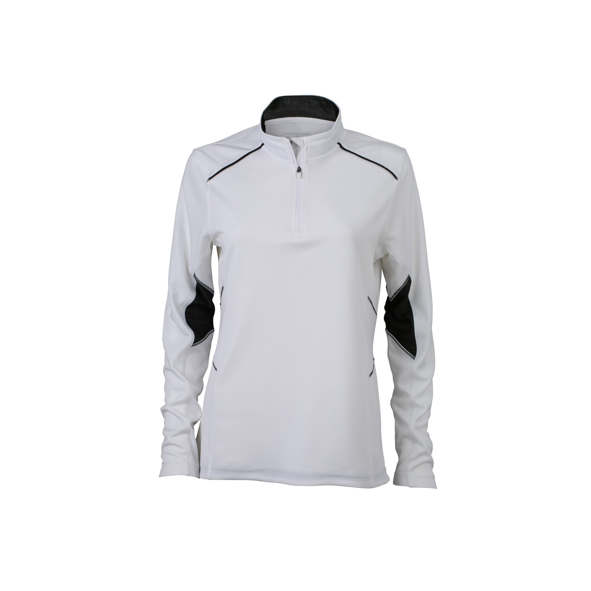 Pied Femme Shirt Course Jogging Running T Jn473 À Respirant Manches Longues Blanc pUzSMV