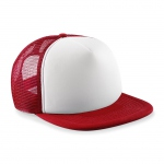 Casquette trucker base ball - B645B - rouge - enfant - junior
