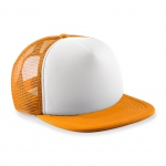 Casquette trucker base ball - B645B - orange - enfant - junior