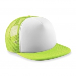 Casquette trucker base ball - B645B - vert citron - enfant - junior