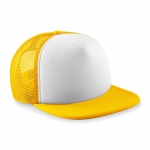 Casquette trucker base ball - B645B - jaune - enfant - junior