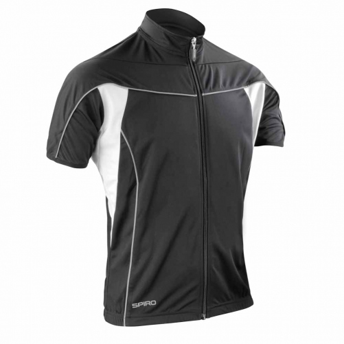 maillot v lo cycliste homme s188m noir full zip. Black Bedroom Furniture Sets. Home Design Ideas