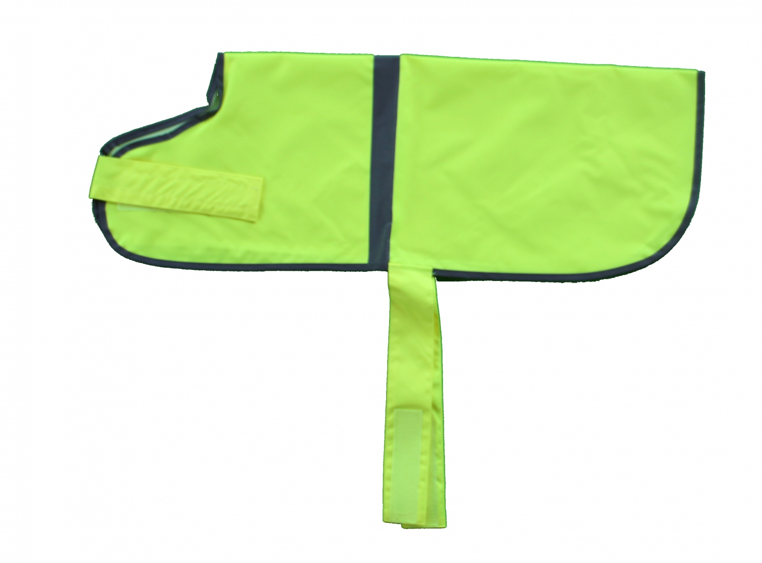 gilet jaune fluo pour chien ev089 ebay. Black Bedroom Furniture Sets. Home Design Ideas