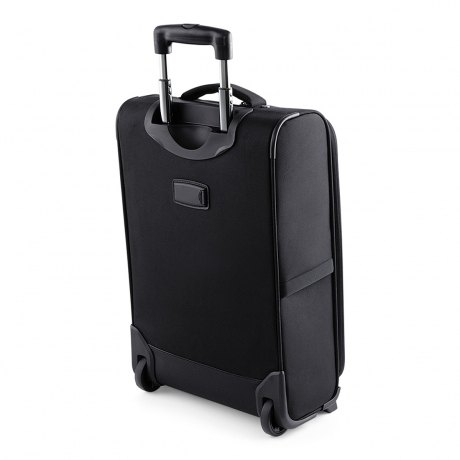 Valise cabine trolley business - QD975 - noir - compartiment renforcé laptop