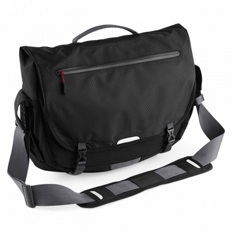 Sac sacoche messenger - porte documents - QX570 NOIR - compartiment ordinateur portable