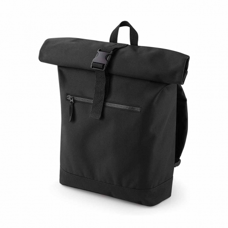 Sac à dos roll-top 12L - compartiment ordinateur - BG855 - noir
