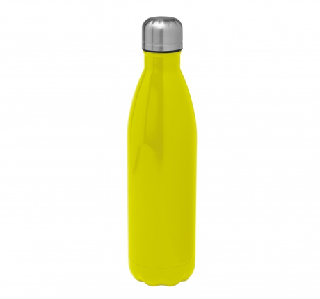 Bouteille isotherme pour boissons - KI3115 - inox - vert lime - 750 ml