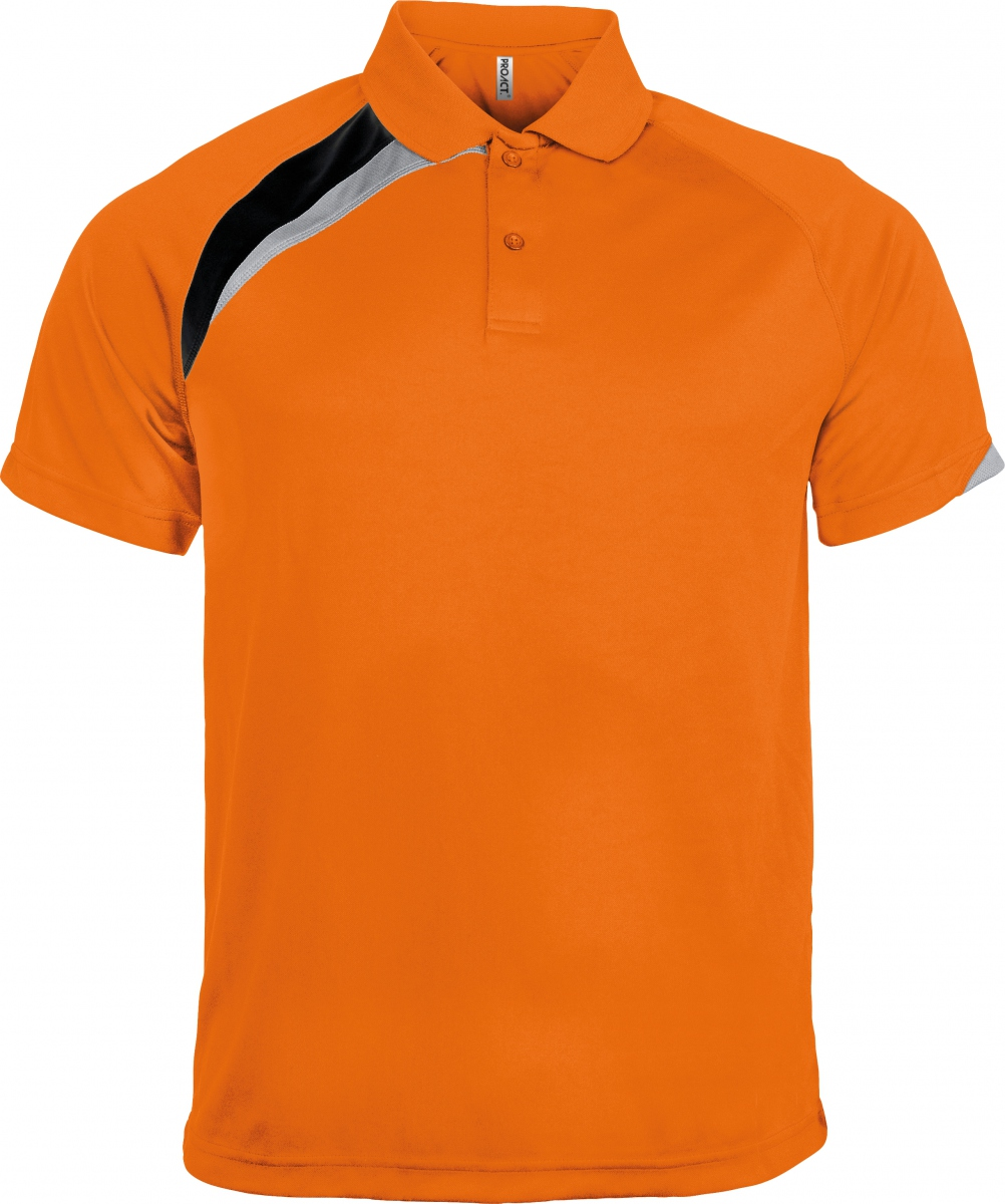 Polo unisexe - PA457 - orange - manches courtes