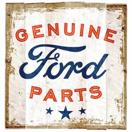 T-shirt homme manches courtes - Ford Genuine parts - 8660 - vintage