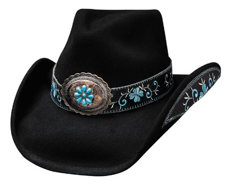Chapeau country western All for good - 0476BL - noir