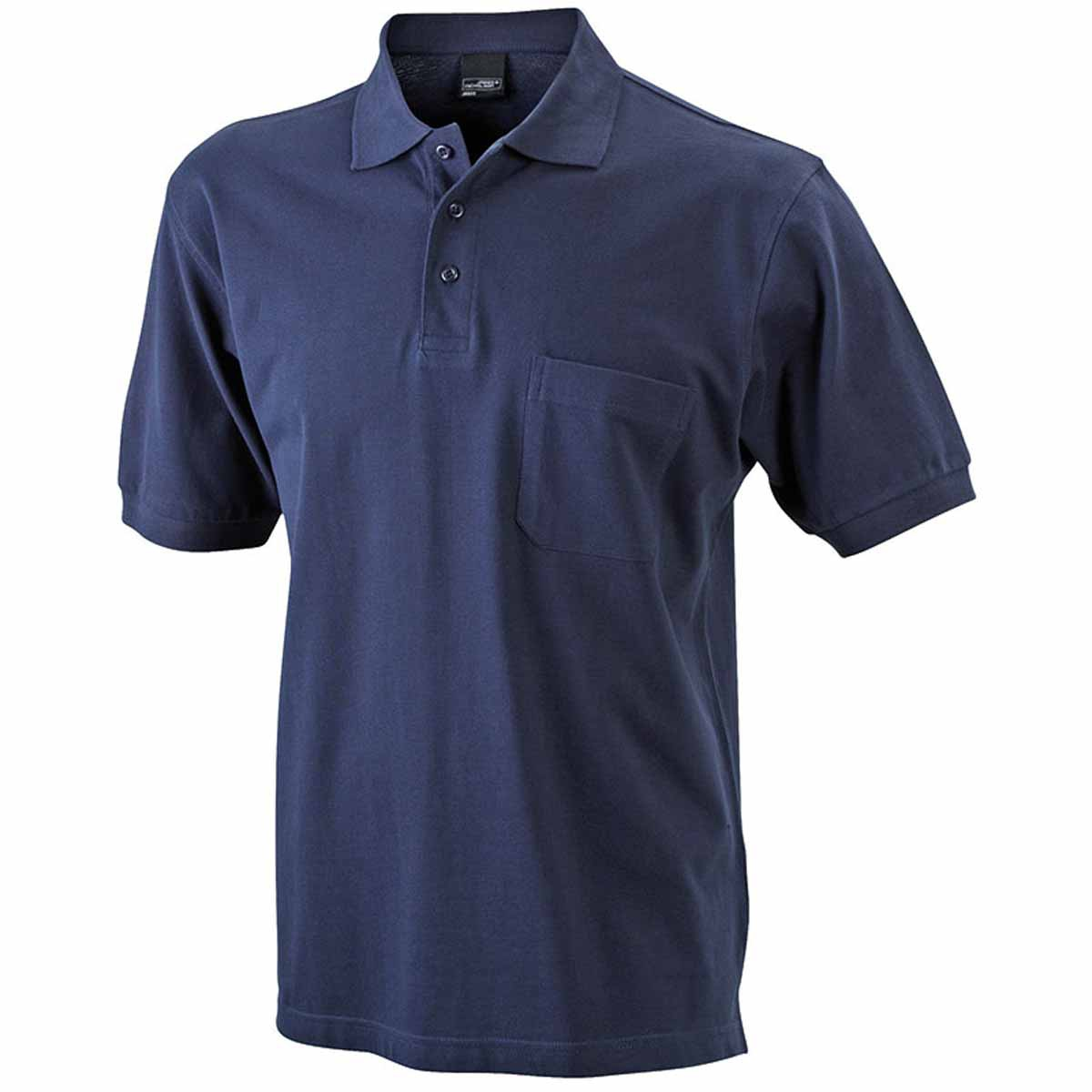 Polos James & Nicholson rouges Sportifs homme Gwipan