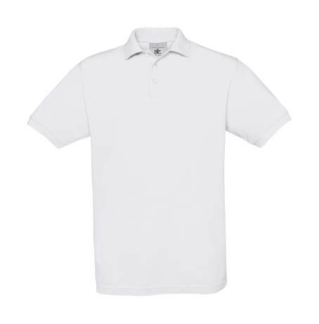 Polo manches courtes - homme - PU409 - blanc