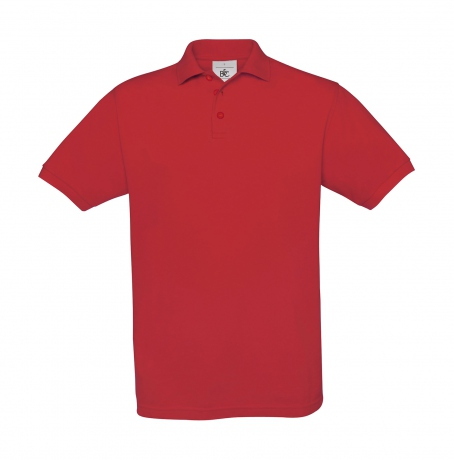 Polo manches courtes - homme - PU409 - rouge