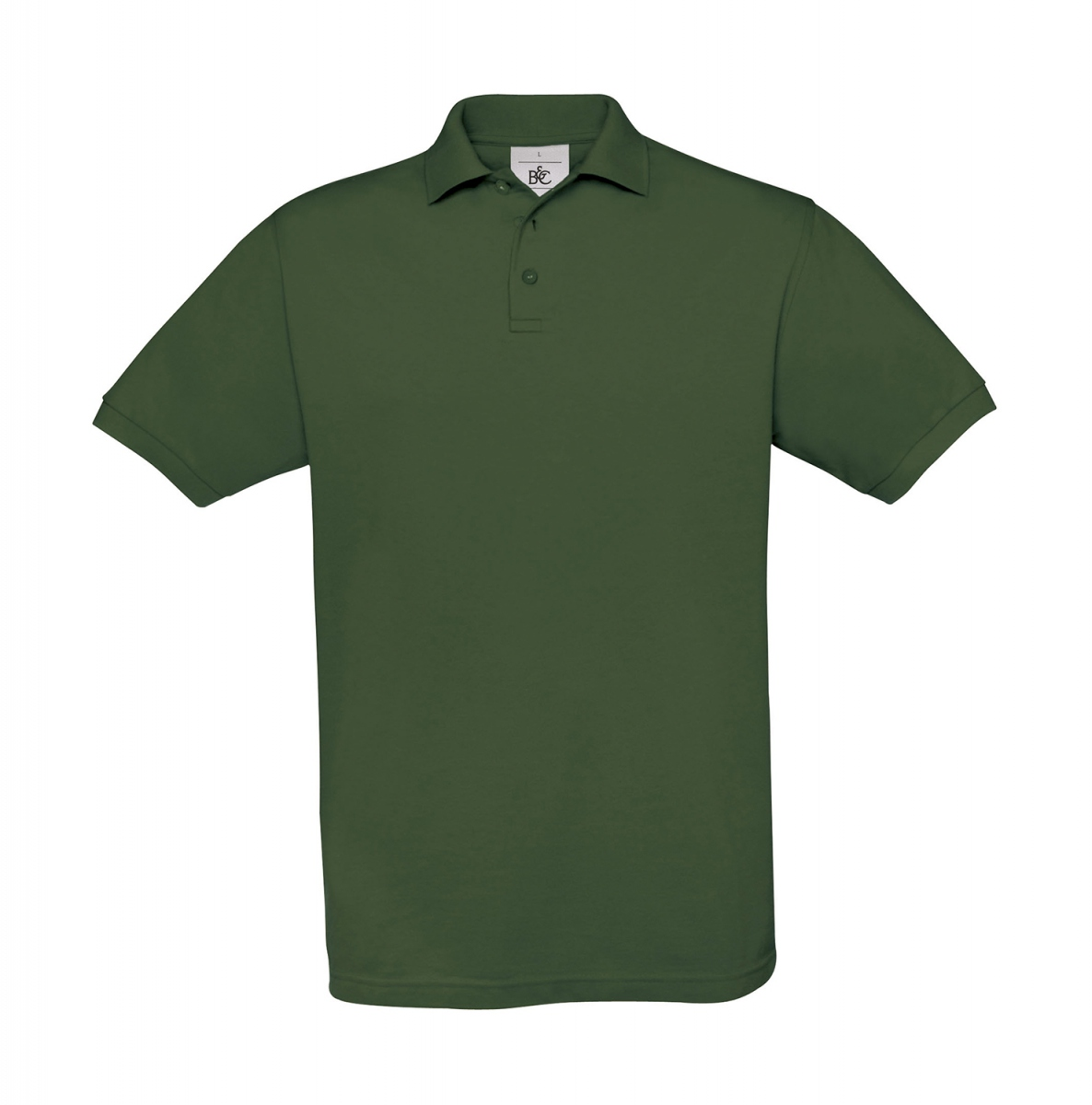 Polo manches courtes - homme - PU409 - vert bouteille