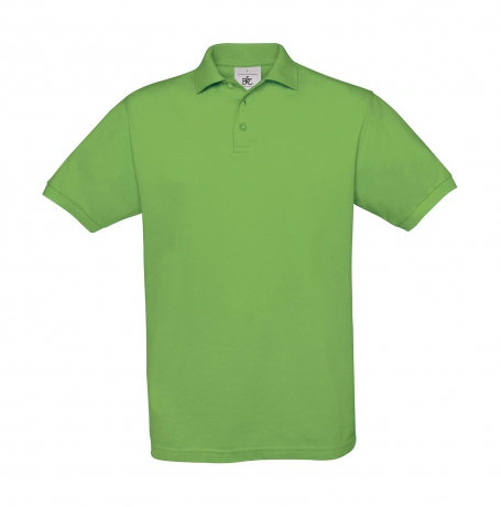 Polo manches courtes - homme - PU409 - vert vif