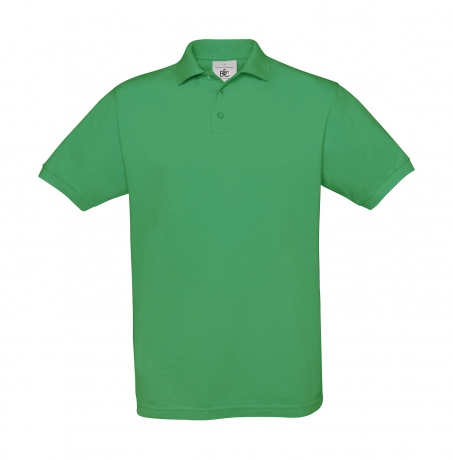 Polo manches courtes - homme - PU409 - vert kelly
