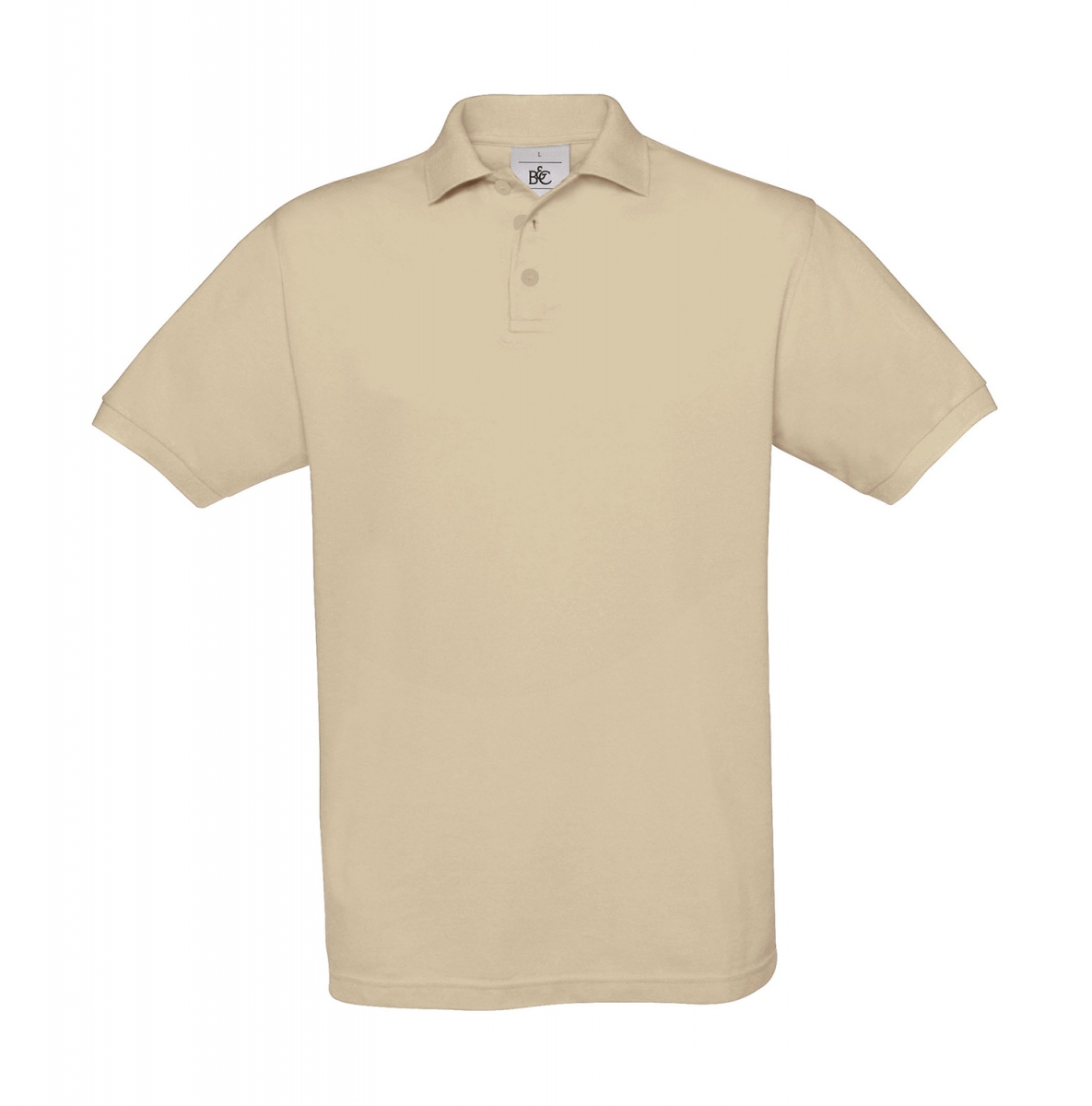 Polo manches courtes - homme - PU409 - beige sable