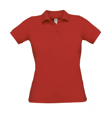 Polo manches courtes - femme - PW455 - rouge