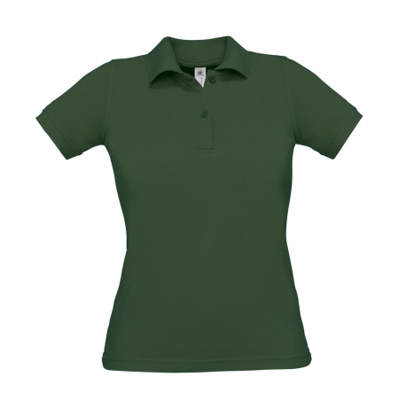 Polo manches courtes - femme - PW455 - vert bouteille
