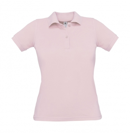 Polo manches courtes - femme - PW455 - rose clair
