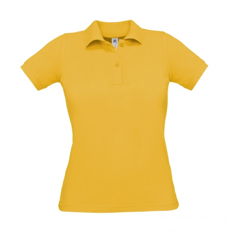 Polo manches courtes - femme - PW455 - jaune gold