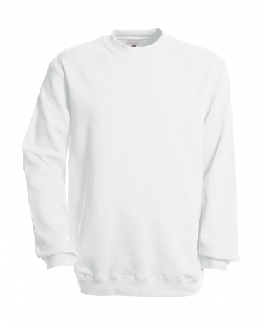 Sweat-shirt - homme - WU600 - blanc