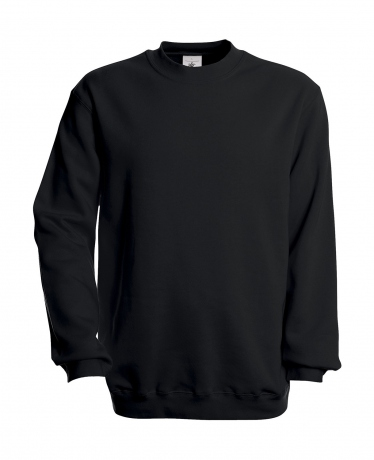 Sweat-shirt - homme - WU600 - noir