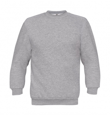 Sweat-shirt - homme - WU600 - gris chiné