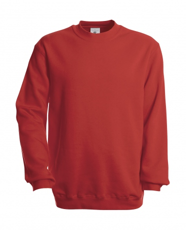 Sweat-shirt - homme - WU600 - rouge