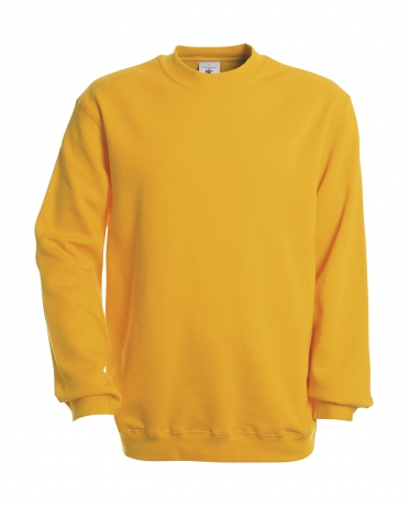 Sweat-shirt - homme - WU600 - jaune gold