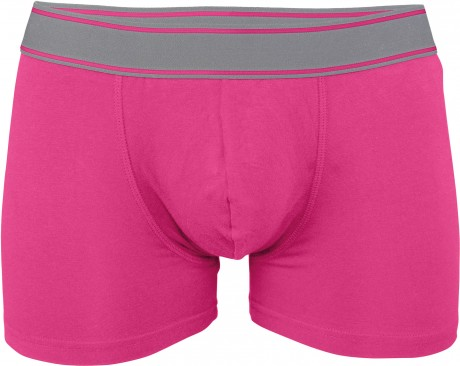 Boxer shorty Homme K800 - coton - rose fuschsia