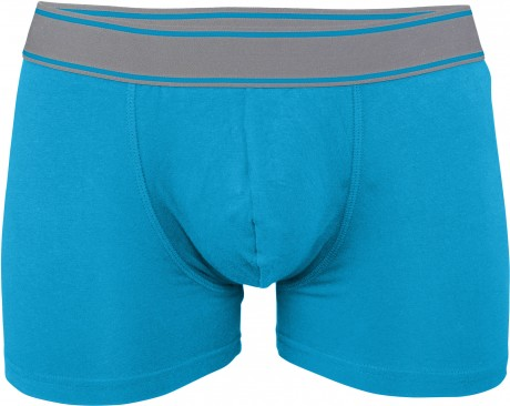 Boxer shorty Homme K800 - coton - bleu tropical