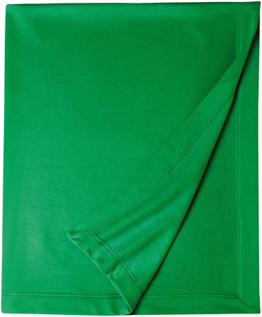 Plaid couverture molleton 127 x 152 - 12900 - vert irlande