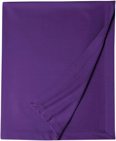 Plaid couverture molleton 127 x 152 - 12900 - violet pourpre