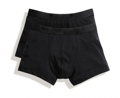 Lot 2 shorty Homme - coton - noir - duo Pack 67-020-7