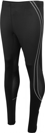 pantalon collant long running Homme - PA172 - noir