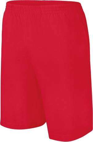 short jersey Homme - PA151- rouge