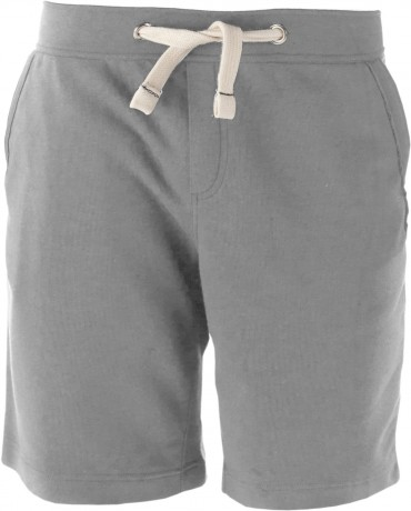 bermuda French Terry unisexe K710 - gris