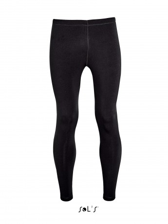collant running - legging homme - 01410 - noir